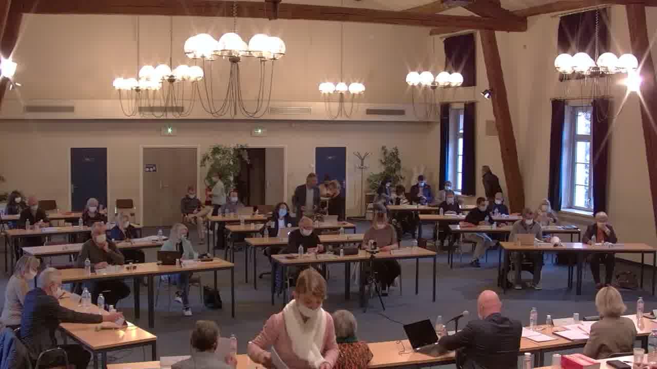 Conseil Municipal de Digne-les-Bains - 20 octobre 2020